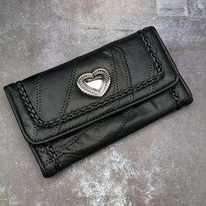 Cute Black Wallet NWOT